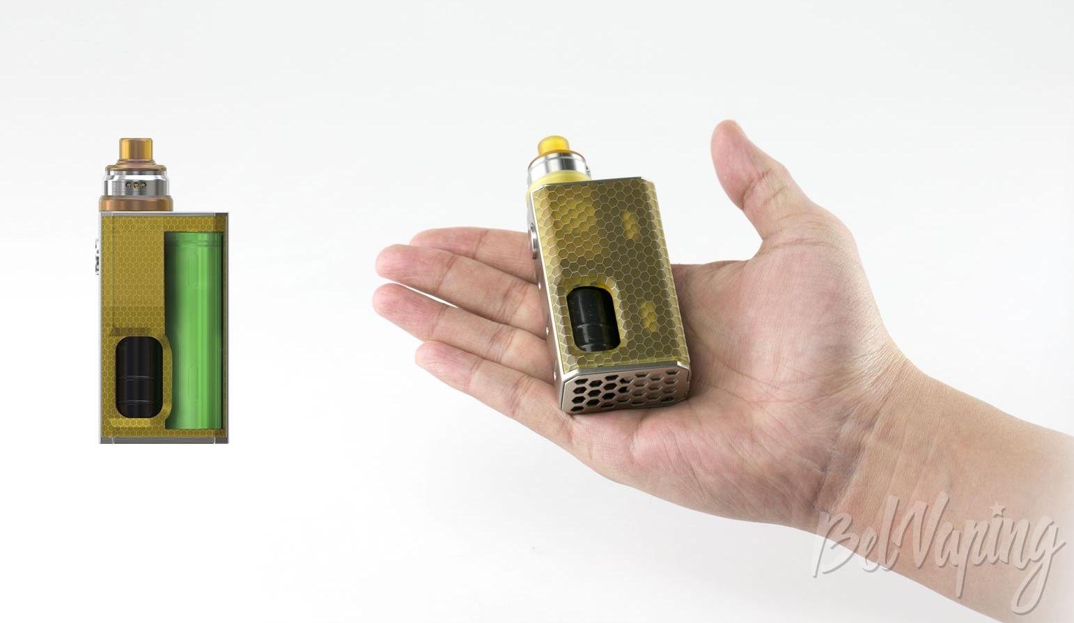 Внешний вид Wismec Luxotic BF Squonk Box kit