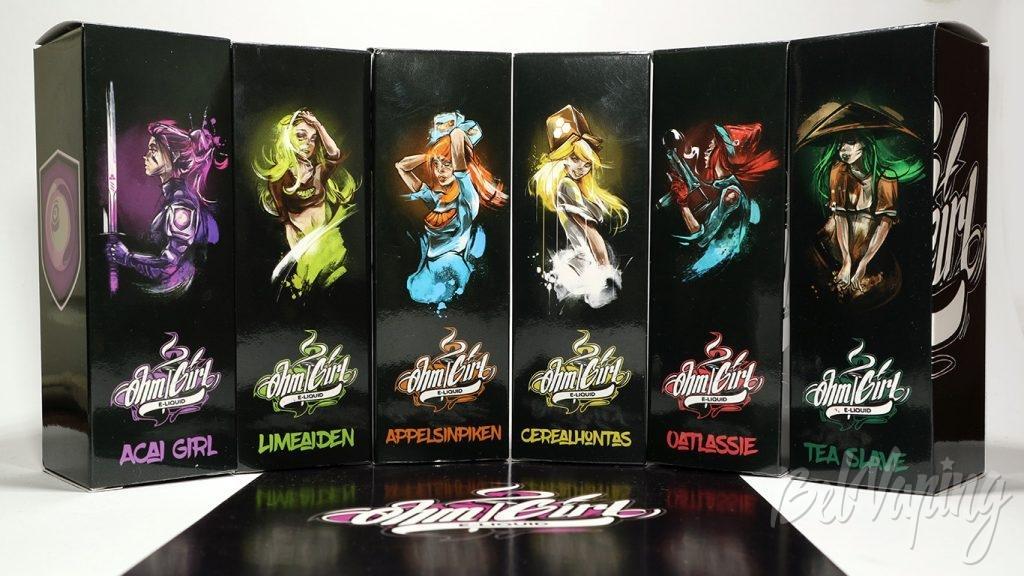 Жидкости Ohm Girl - коллекция вкусов