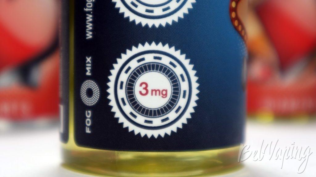 Жидкости Smokin' Aces - содержание никотина