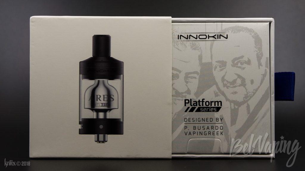 Упаковка Ares MTL RTA от Innokin