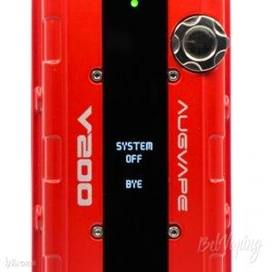 Экран боксмода Augvape V200 Mod