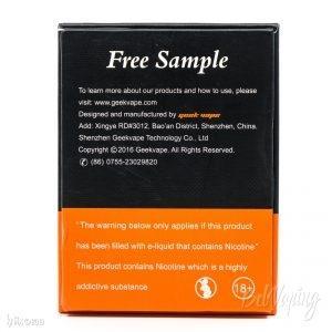 Упаковка Blitzen RTA от Geekvape