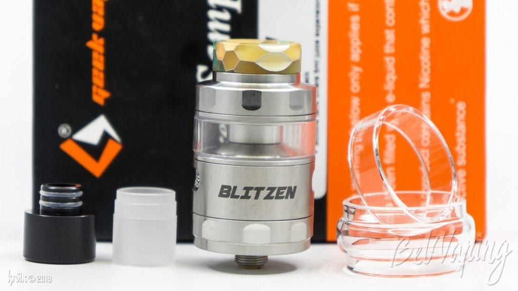 Комплектация Blitzen RTA от Geekvape