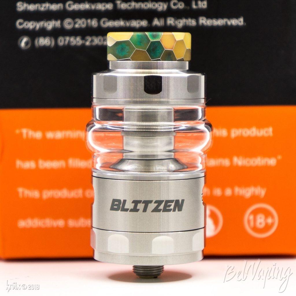 Внешний вид Blitzen RTA со стеклом bubble glass на 5мл