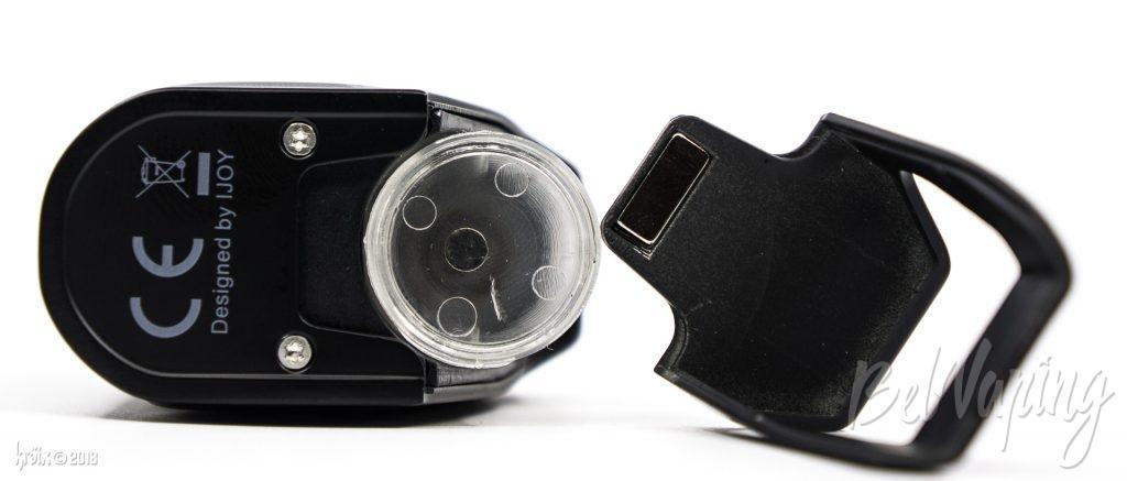 Крышка для баночки в CAPO Squonker Box Mod