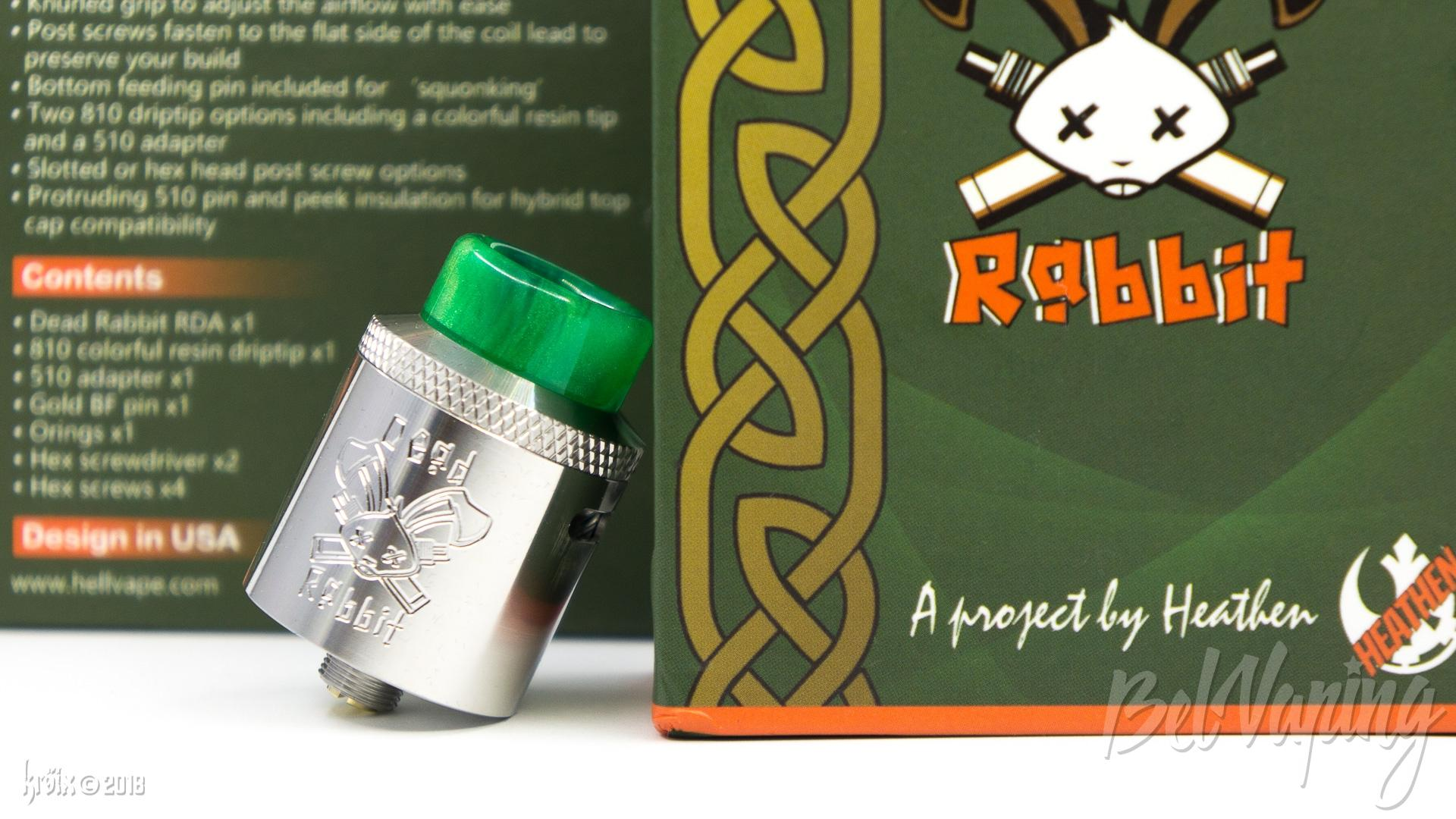 Обзор дрипки Dead Rabbit RDA