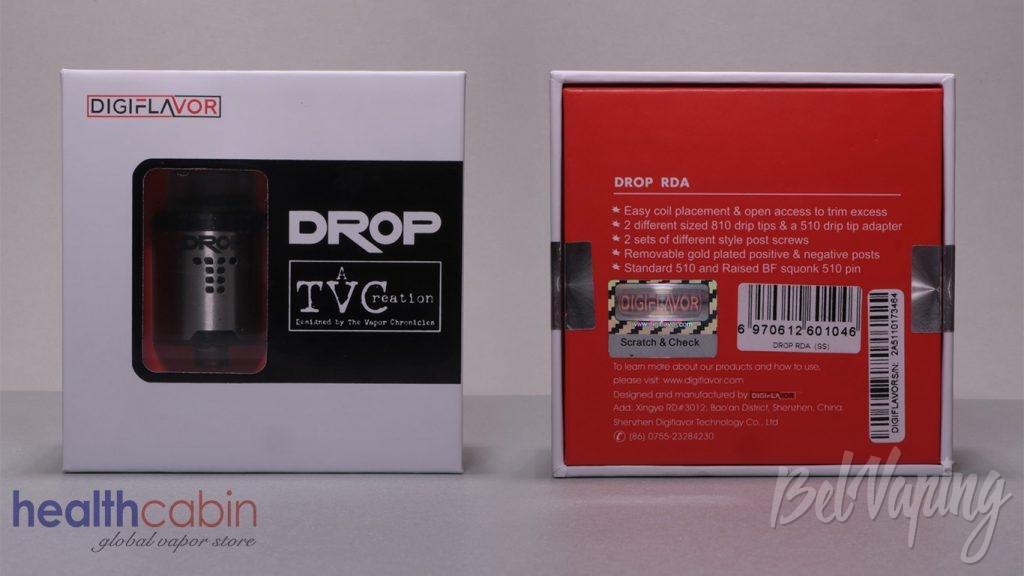 Digiflavor DROP RDA - упаковка