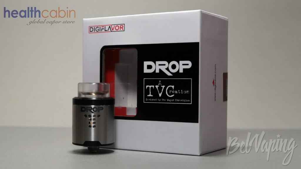 Обзор Digiflavor DROP RDA