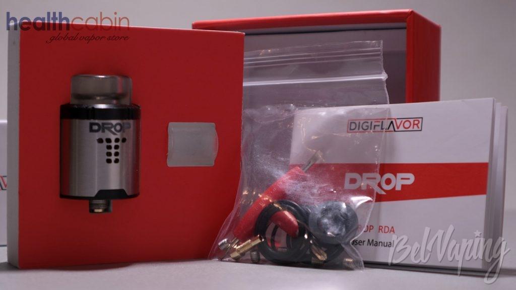 Digiflavor DROP RDA - что в коробке