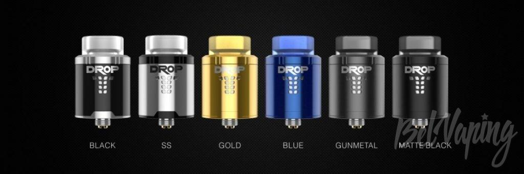 Digiflavor DROP RDA - варианты окраса