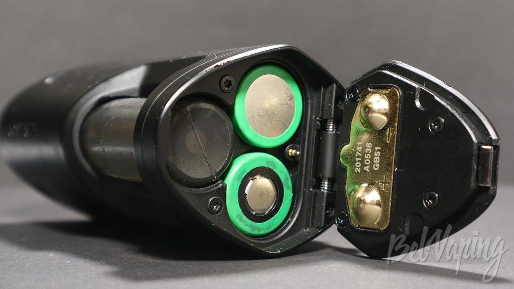 GEEK VAPE GBOX MOD - установка аккумуляторов