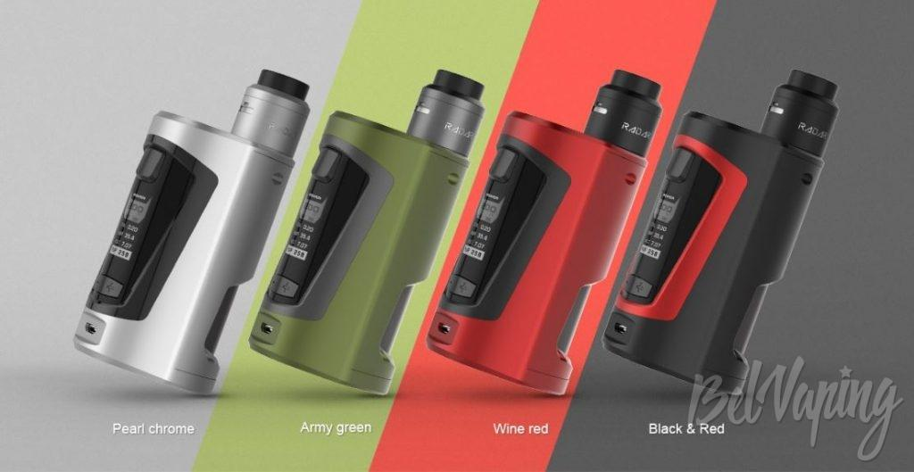 GEEK VAPE GBOX MOD - цвета устройства