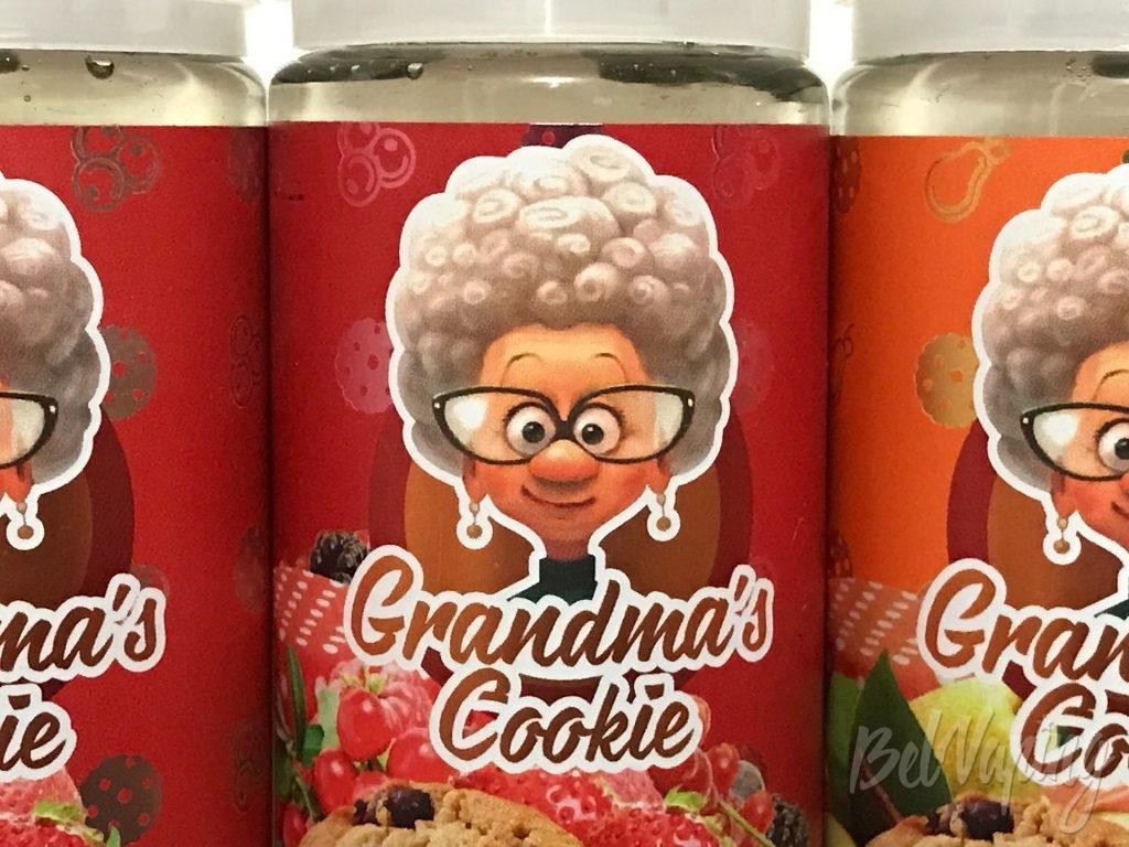 Этикетка жидкости Grandma's Cookies