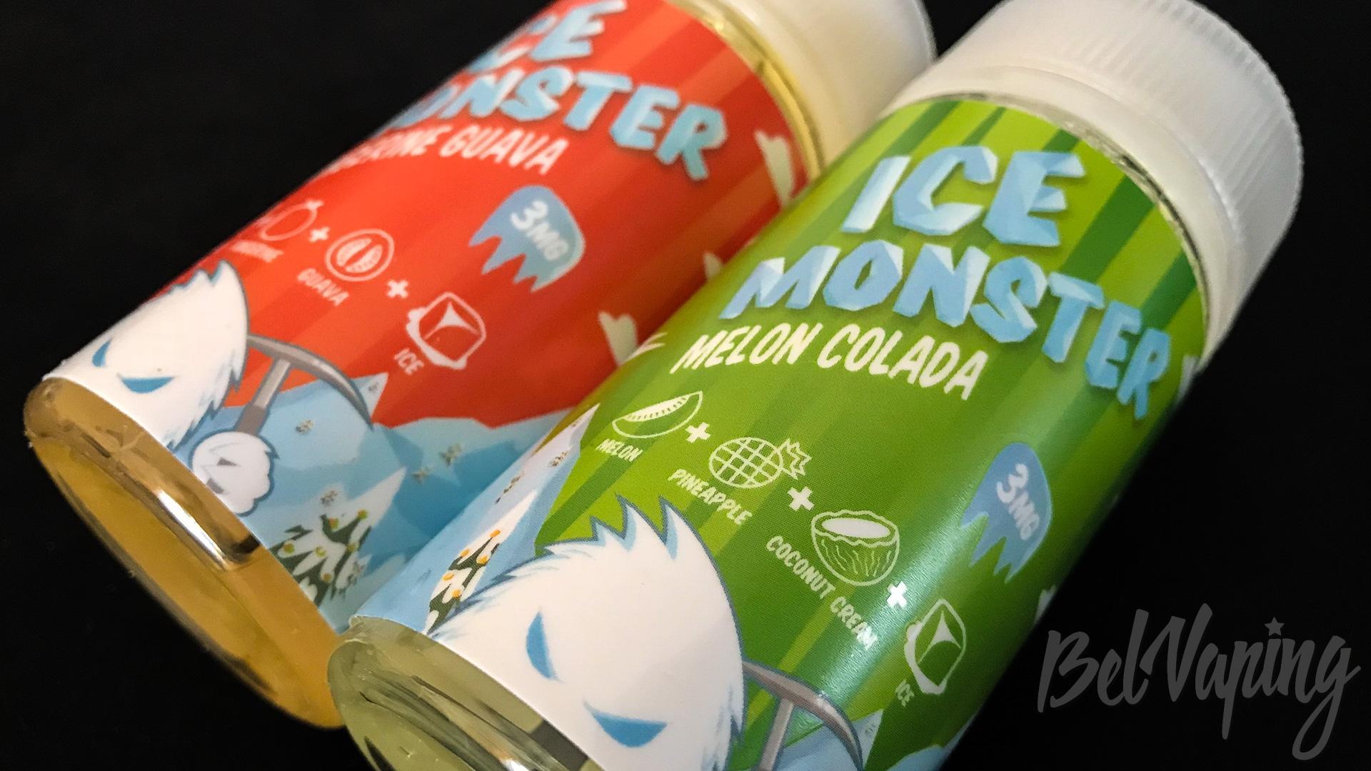 Обзор жидкости Ice Monster