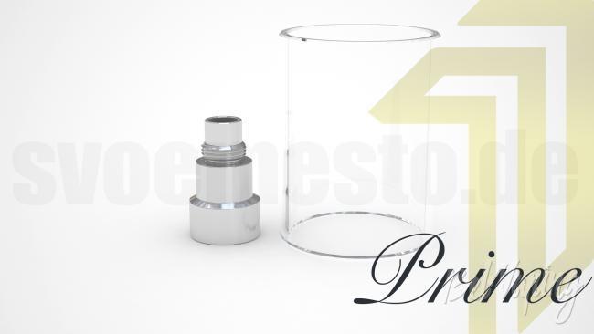 Удлинитель и увеличенное стекло для Kayfun Prime
