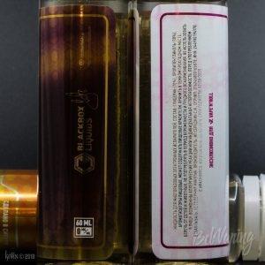 Этикетка жидкости Massive от BlackBox Liquids
