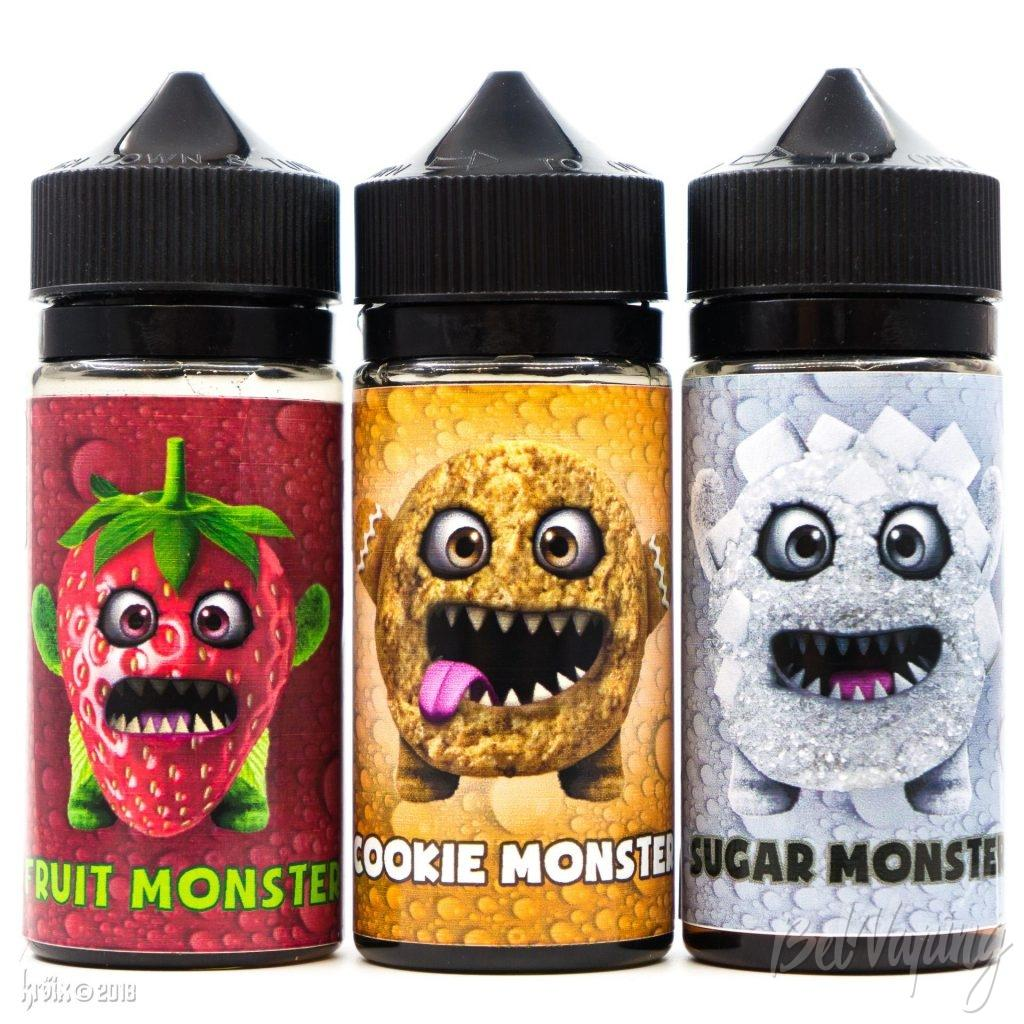 Жидкости Monsters Juice от NovaSens