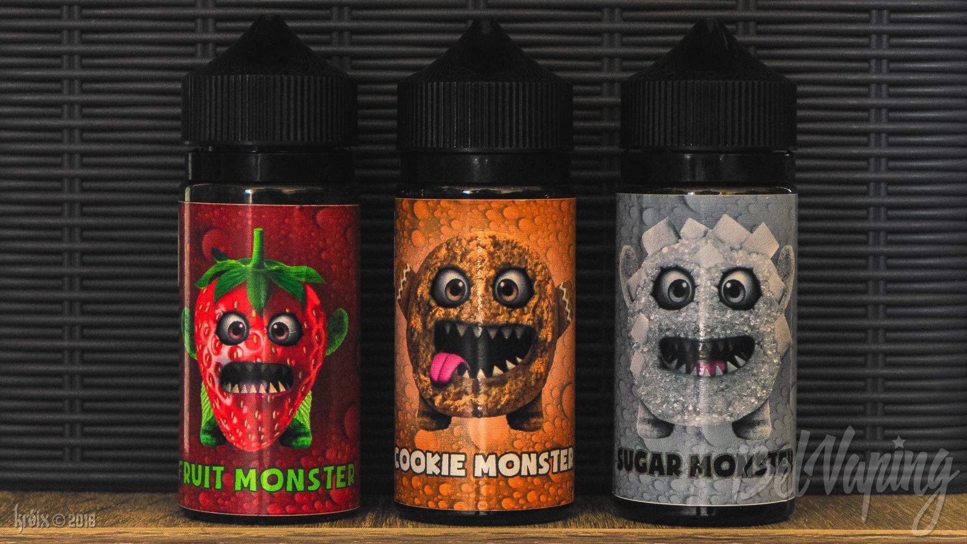 Обзор жидкости Monsters Juice от NovaSens