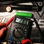 Разряд аккумулятора 18650 в мехмоде Silent 20700