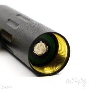 Установка аккумулятора 18650 в мехмод Silent 20700