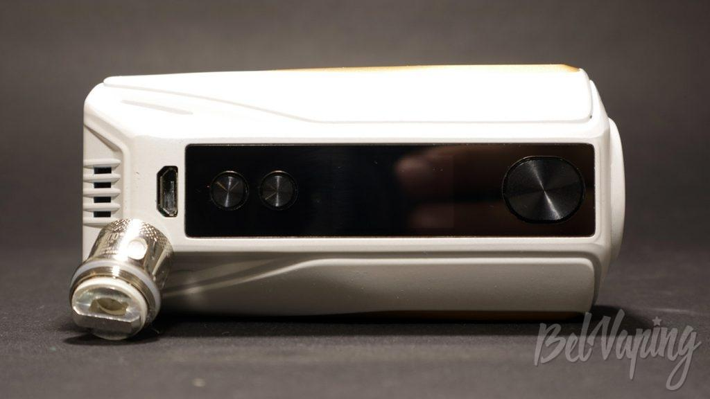 Vaptio N1 PRO 240W - кнопки и экран