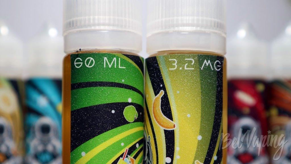 Жидкости AA - объём и содержание никотина