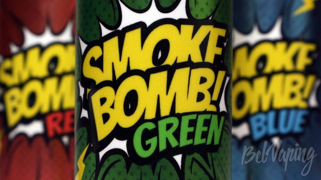 Обзор жидкости SMOKE BOMB!
