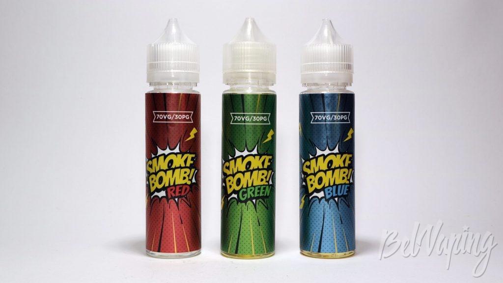 Жидкости SMOKE BOMB!