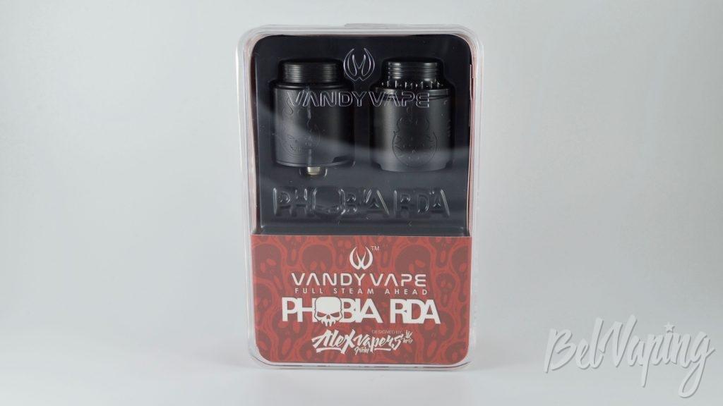 Phobia RDA обзор - упаковка