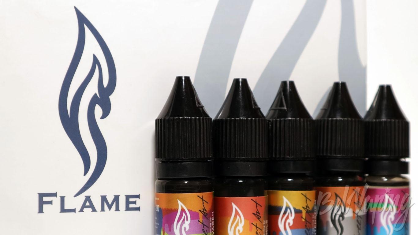 Обзор ароматизаторов Flame Flavour - Street Art