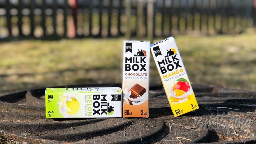 Жидкости BLVK MILK BOX