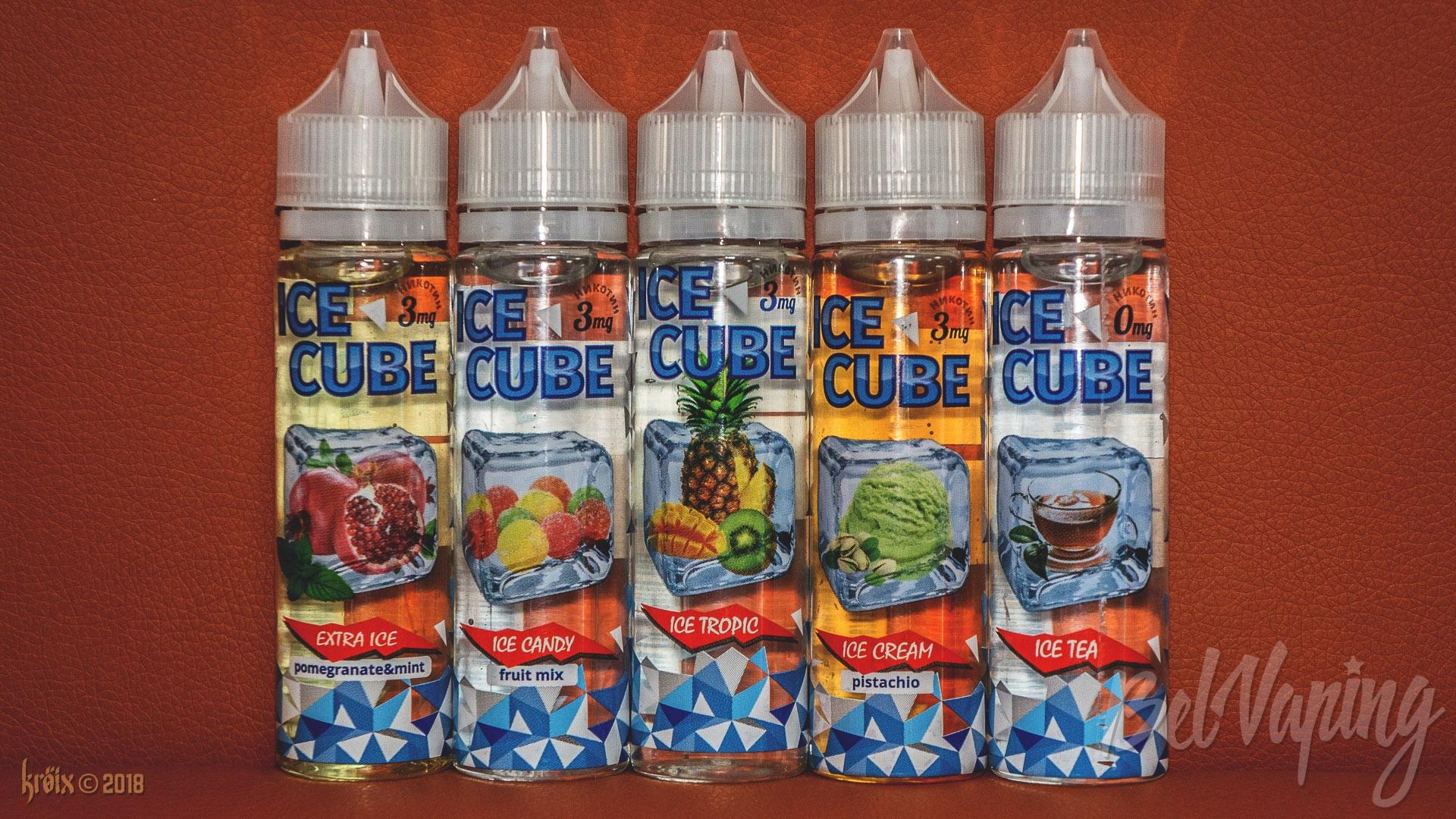 Обзор жидкости Ice Cube от компании Intrue Lab