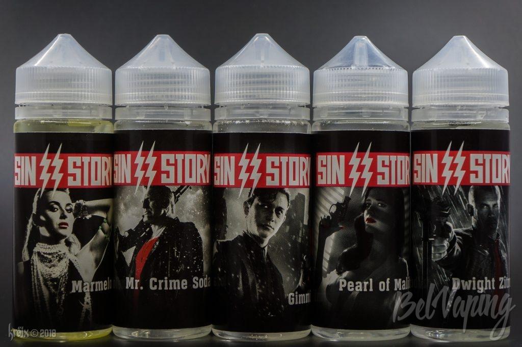 Линейка жидкости Sin2Story