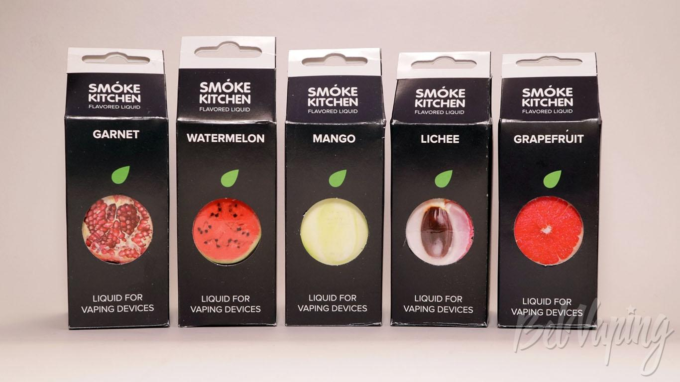 Обзор жидкостей Jungle Juice от Smoke Kitchen