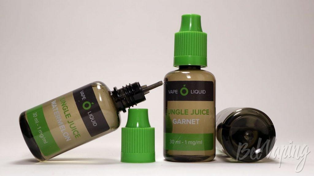 Жидкости Jungle Juice от Smoke Kitchen - бутылочки