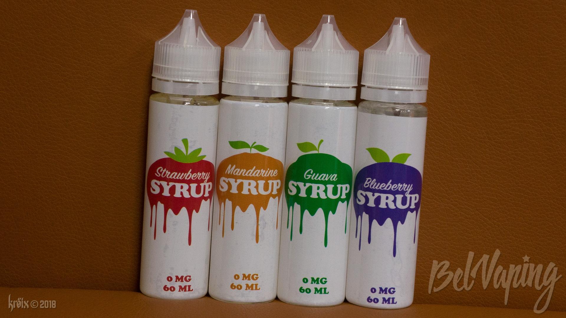 Обзор жидкости Syrup от компании Intrue Lab