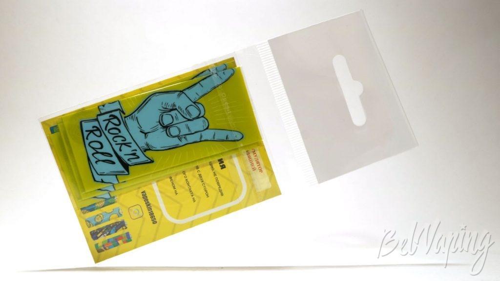 Термоусадка VAPE SKIN - индивидуальная упаковка