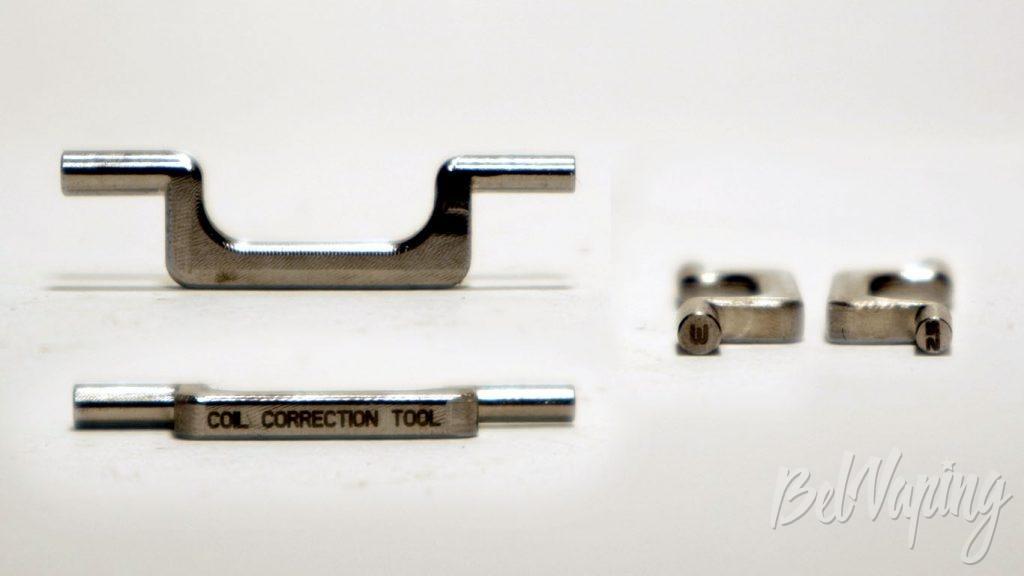 Vandy Vape BERSERKER MTL RDA - Coil Correction tool