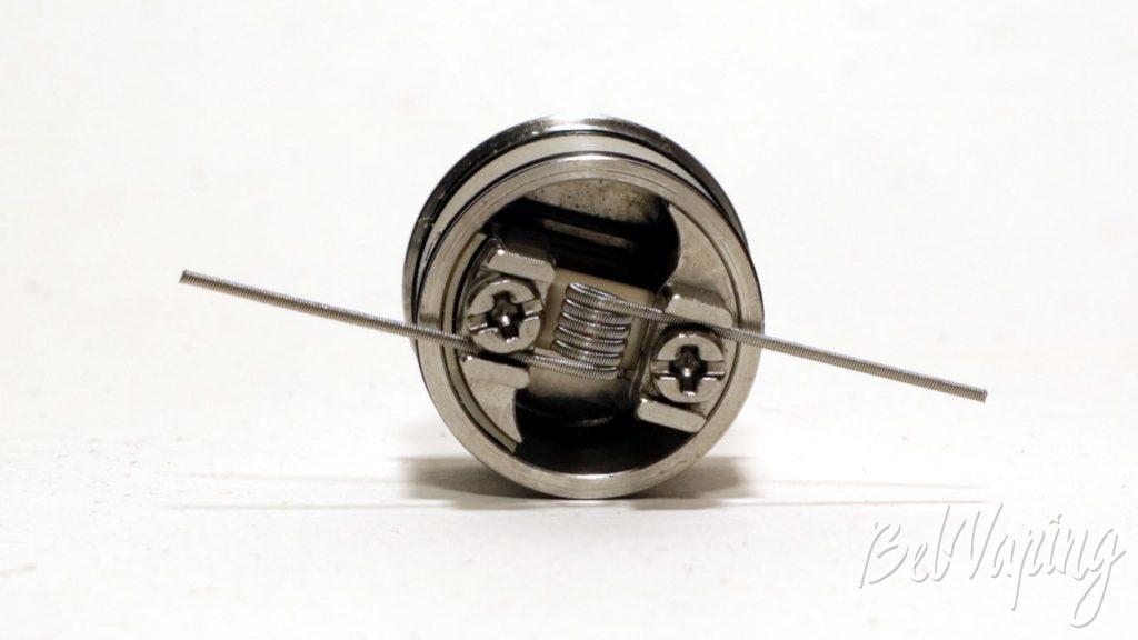 Vandy Vape BERSERKER MTL RDA - установка намотки