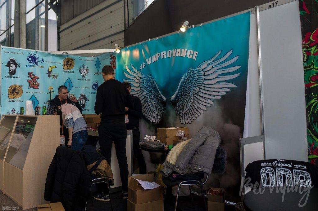 VapRovance на зимнем Vapexpo 2017 в Москве