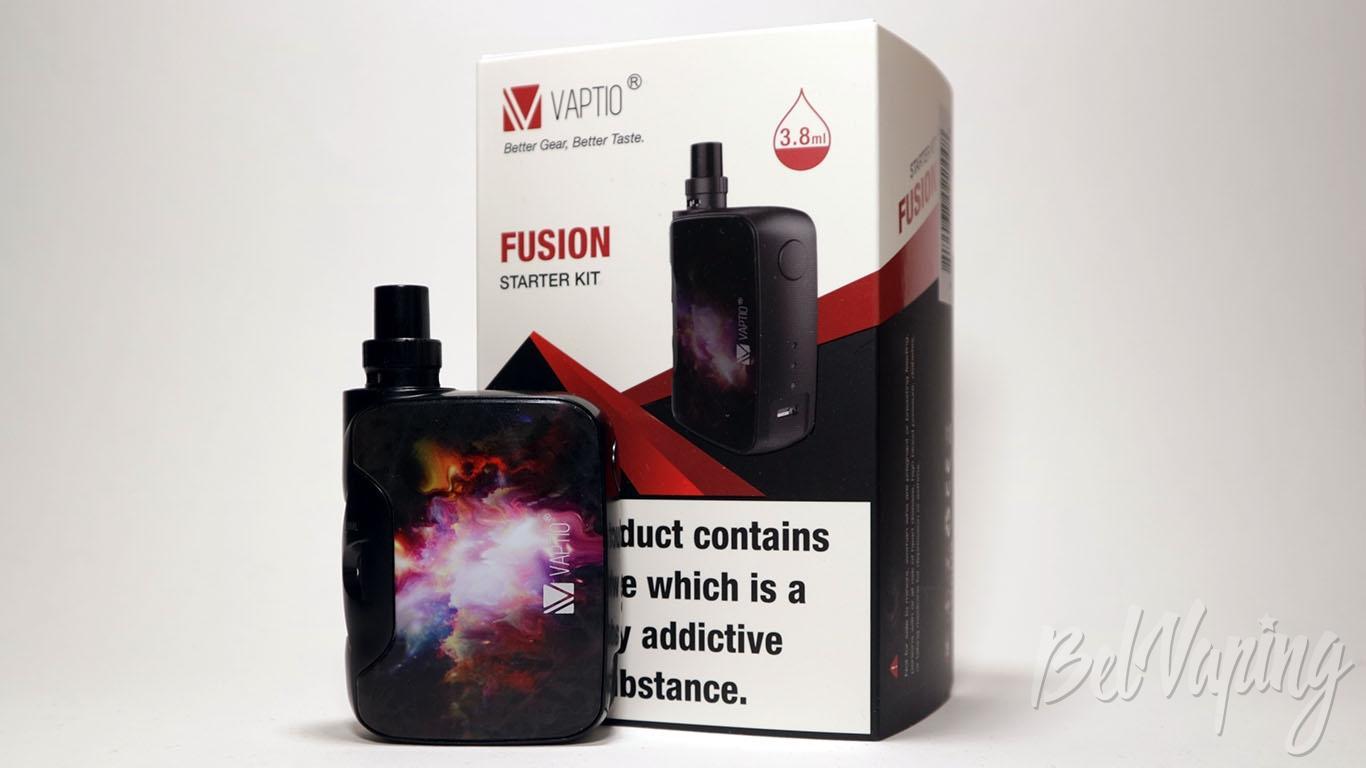 Обзор Vaptio FUSION Starter Kit