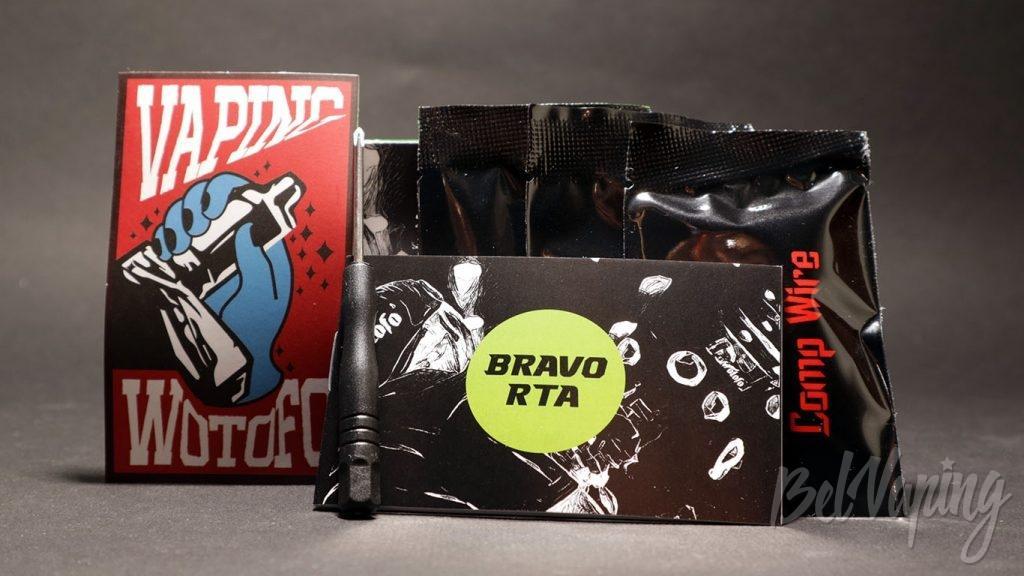 WOTOFO BRAVO RTA - комплект поставки