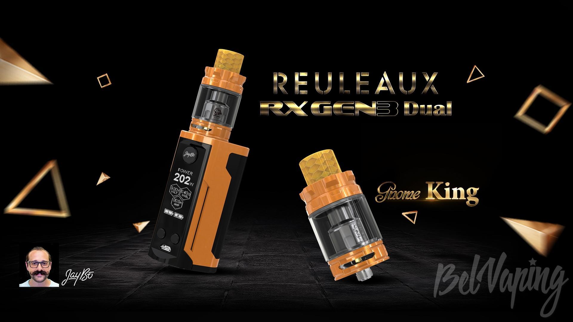 Wismec Reuleaux RX GEN3 Dual Kit. Первый взгляд