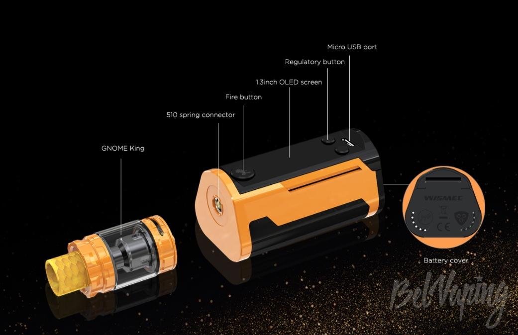 Конструктив Wismec Reuleaux RX GEN3 Dual Kit