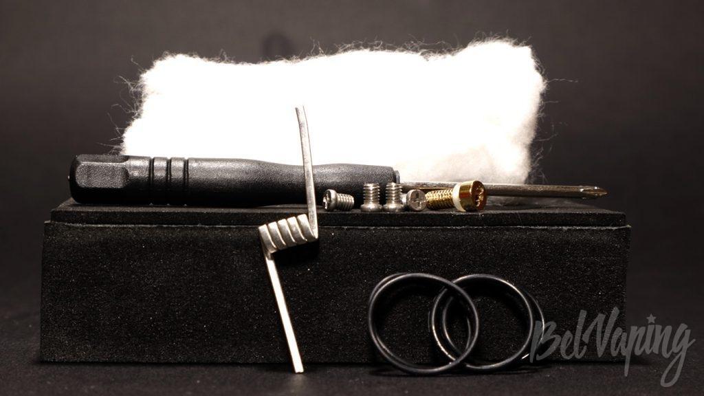 Wotofo NUDGE RDA 22mm - дополнительные аксессуары