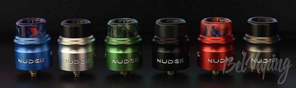 Wotofo NUDGE RDA 22mm - варианты окраски