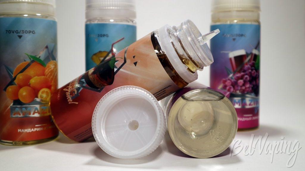 Жидкости Amazing Juice - формат бутылочки