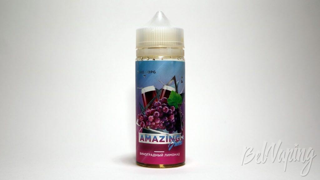 Жидкости Amazing Juice - вкус Виноградный лимонад
