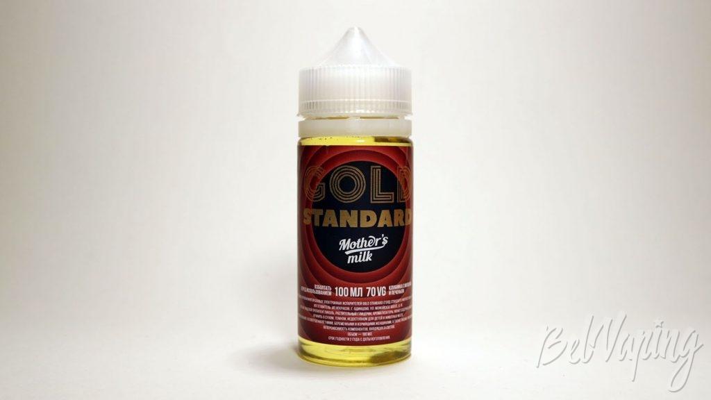Жидкости GOLD SRANDARD - вкус Mother's milk
