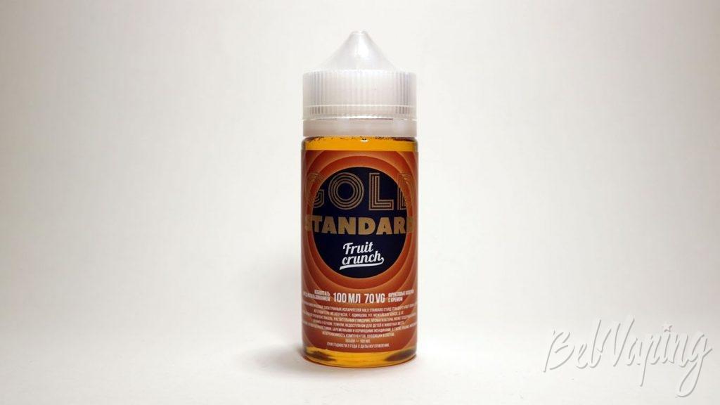 Жидкости GOLD SRANDARD - вкус Fruit crunch